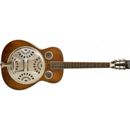Ozark 3515DD Deluxe Wooden Spider Resonator Deluxe Distressed