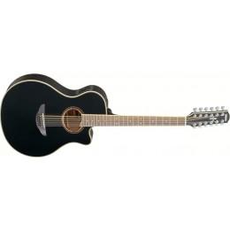 Yamaha APX700II-12 Black 12 string acoustic