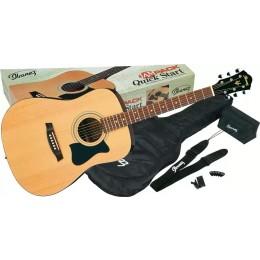 Ibanez V50NJP-NT Jam Pack Natural Acoustic Package