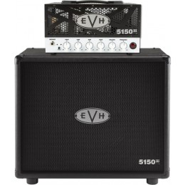 EVH 5150III 15W LBX/1x12 Straight Cab Black/White Ex Demo