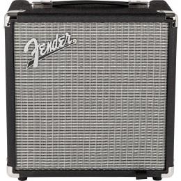 Fender Rumble 15 V3 Black/Silver Bass Amp Combo