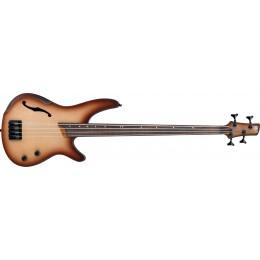 Ibanez SRH500F-NNF Natural Browned Burst Flat Fretless Bass