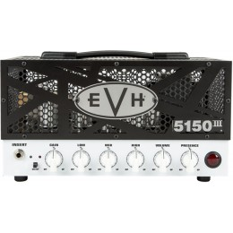 EVH 5150III 15W LBX Black/White Head Guitar Amp