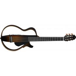 Yamaha SLG200N Silent Guitar Nylon Tobacco Brown Sunburst