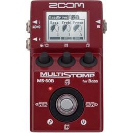 Zoom MS-60B Multistomp bass multi effects pedal