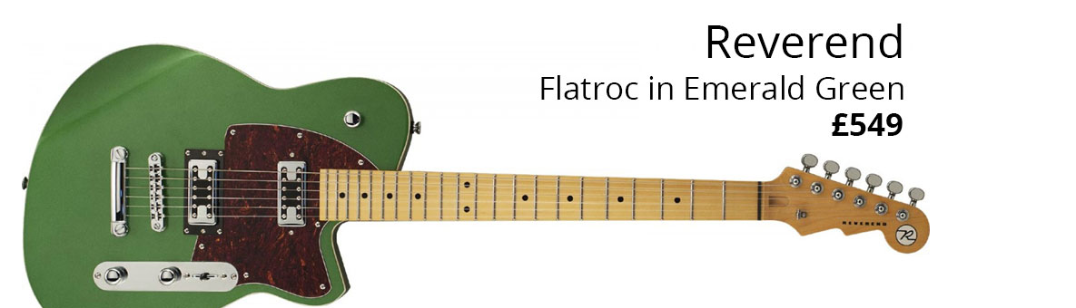 Reverend Flatroc Emerald Green Homepage Banner