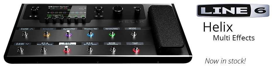 Line 6 Helix Homepage Banner