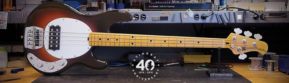 Music Man StingRay 40th (Old Smoothie) Smoothie Burst