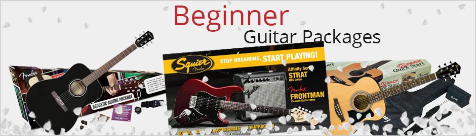 Christmas Beginner Guitar Packages