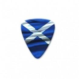 Scottish Saltire Plectrum Guitar Pick