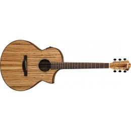 Ibanez AEW40ZW-NT Zebrawood Electro Acoustic Guitar