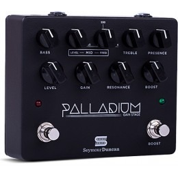 Seymour Duncan Palladium Gain Stage Guitar Pedal Black