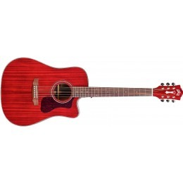 Guild D-120CE Westerly Dreadnought Acoustic Cherry Red
