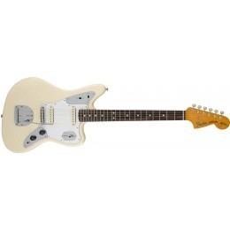 Fender Johnny Marr Jaguar Guitar Olympic White