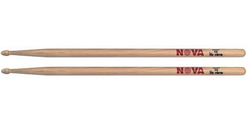 vic firth nova 5a drumsticks usa hickory merchant city music. Black Bedroom Furniture Sets. Home Design Ideas