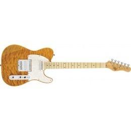 MIchael Kelly 1955 Mod Shop Guitar Amber Trans