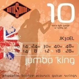 Rotosound JK30EL Jumbo King 12-String Set 10-48
