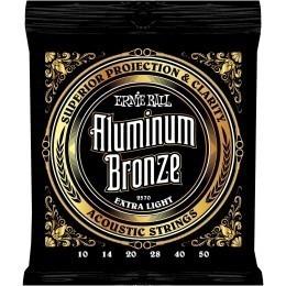 Ernie Ball Aluminium Bronze Strings Extra Light 10-50