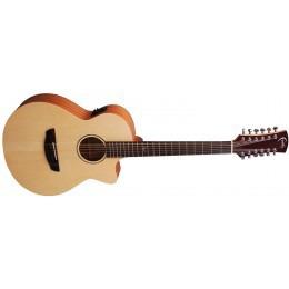 Faith FKV12 Naked Venus Cutaway 12 String Guitar