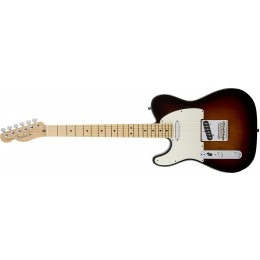 Fender Standard Telecaster Left Handed Brown Sunburst Maple