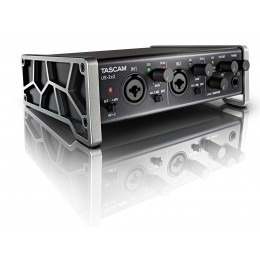 Tascam US-2x2 USB Audio Interface Angle