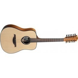 LAG T66D12 Tramontane 12 String Guitar