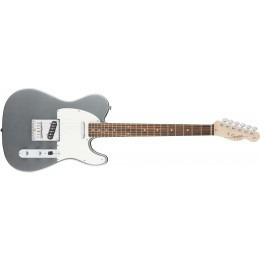 Squier Affinity Series Telecaster Guitar Slick Silver Rosewood