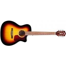 Guild OM-140CE Westerly Electro Acoustic Guitar Sunburst