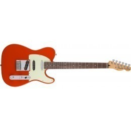 Fender Deluxe Nashville Telecaster Guitar Fiesta Red