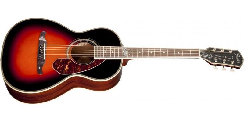 Fender Ron Emory Loyalty Parlor Guitar Vintage Sunburst