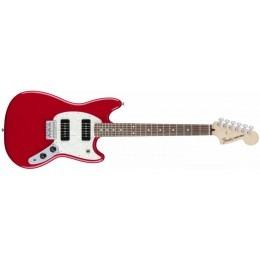 Fender Mustang 90 Torino Red Offset Guitar