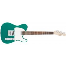 Squier Affinity Series Telecaster Guitar Race Green Rosewood