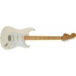 Fender Jimi Hendrix Stratocaster Guitar Olympic White Maple