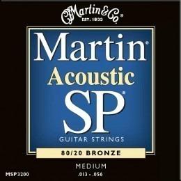 Martin MSP3200 SP 80/20 Bronze Acoustic Guitar Strings 13-56