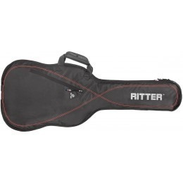 Ritter Performance RGP2-E Electric Guitar Gig Bag Black Red
