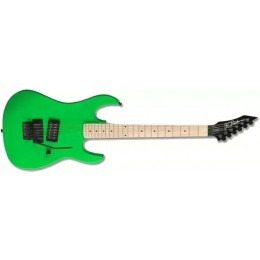 BC Rich Gunslinger Retro Neon Green Guitar