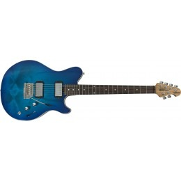 Music Man PDN Reflex HH Trem Neptune Blue (Pre-Owned)