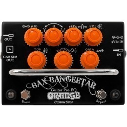 Orange Bax Bangeetar Black Guitar Pedal