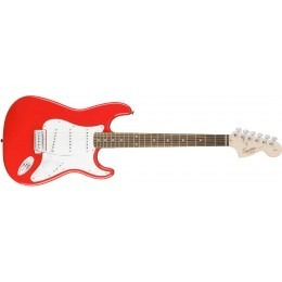 Squier Affinity Series Stratocaster Guitar Race Red Rosewood