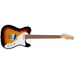 Fender Deluxe Tele Thinline 3-Color Sunburst Rosewood