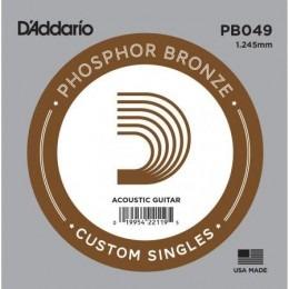 D'Addario PB049 Acoustic Phosphor Bronze String