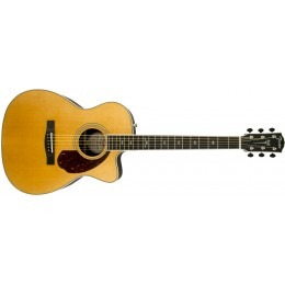 Fender PM-3 Deluxe Triple-0 Acoustic Natural Paramount