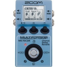Zoom-MS70CDR-MultiStomp Effects Pedal