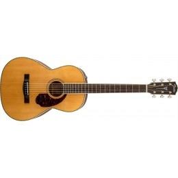 Fender PM-2 Standard Parlor Guitar Natural Paramount