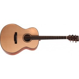 Auden Austin Spruce Bubinga Fullbody Mini Jumbo Acoustic