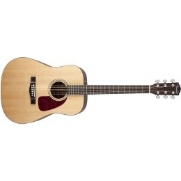 Fender CD-140S Solid Top Acoustic Guitar Natural Satin