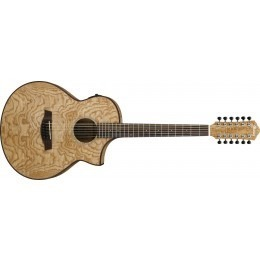 Ibanez AEW4012-NT Natural Ash 12 String Guitar