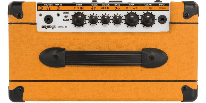 orange crush 20 guitar amp combo uk merchant city music glasgow. Black Bedroom Furniture Sets. Home Design Ideas