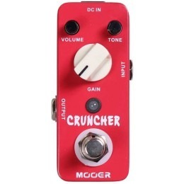 MOOER Cruncher Distortion Pedal MDS3