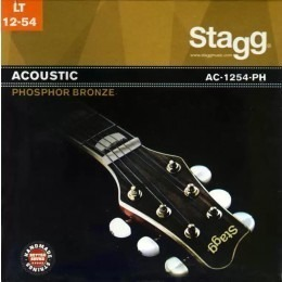 Stagg AC-1254-PH Phosphor Bronze Acoustic Guitar Strings 12-54
